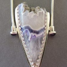 Silver Top Agate